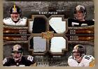 2009 EXQUISITE WARD WOODSON HAM MILLER POLAMALU PARKER 8X PATCH 09 20!