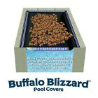 Buffalo Blizzard 16 x 36 Rectangle Swimming Pool Leaf Net Winter Cover