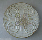 Frankoma OK3 Seal 5 Civilized Tribes  of Indians in Oklahoma Trivet  Beige/Tan