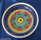 Amazing Vingtage DESIMONE Italy Hand-Painted Mod  Multicolored Pasta Soup Bowl