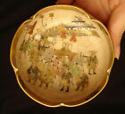 3 1 2 D MARKED Satsuma JAPANESE MEIJI PERIOD SATSUMA MINIATURE LOBED BOWL