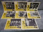 1962 8 Lobby Cards TWIST ALL NIGHT Louis Prima June Wilkinson