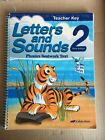 Abeka Grade 2 Letters and Sounds Phonics Seatwork Text Teacher Key Third Edition