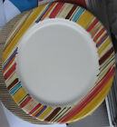 NEW PFALTZGRAFF STRIPED  EQUATOR DINNER PLATE - AUTHORIZED DEALER