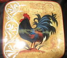 Certified International Golden Rooster SALAD PLATE