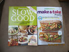 Weight Watchers Slow Good Super Slow Cooker  Make  Take Meals Cookbooks