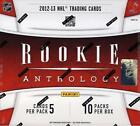 No New Rookie Players in 2012-13 Hockey Card Products - UPDATE 13