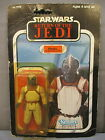 STAR WARS 1983 KLAATU Skiif Guard NEW 77 Back Card ROTJ Kenner