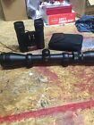 Simmons 8 Point 3 9 X 40 Scope With Rings And Weaver Rails W 10x25 Binoculars