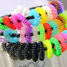 Fashion 12pcs Girl Elastic Rubber Hair Ties Band Rope Ponytail Holder Scrunchie