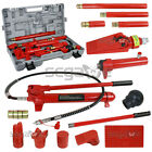 8 Ton Long Ram Jack 410 Ton Power Hydraulic Jack Kit Body Frame Repair Tool