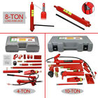 8 ton long ram jack  4 10 Ton Power Hydraulic Jack Kit Body Frame Repair Tool