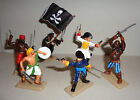 THE PIRATES  ARGENTINA DSG  Plastic Toy Soldiers set HAND PAINTED Britains