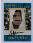1996 96 PINNACLE INSCRIPTIONS LASERVIEW JUNIOR SEAU AUTO SIGNATURE 2181 3000