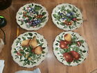 Set of 4 Sakura Sonoma Oneida Excell Fruit Salad Luncheon Desert Plates Mint