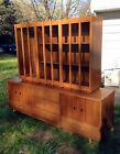 Vintage Mid-Century Danish Modern Hutch Credenza China Cabinet~Beautiful!!