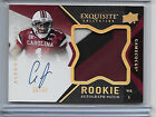 2012 Upper Deck Exquisite Football Rookie Autograph Patch Visual Guide 41