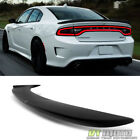 Matt Black 2011-2018 Dodge Charger Hellcat Style SRT Rear Wing Spoiler Paintable