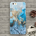 New Blue Gold Marble Pattern iPhone 44s55s5cSE 66S6+6S+ Case Cool Tough
