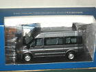 Minichamps 2001 Ford Transit 3 doors Van F5 9 seater Bus 1 43 Diecast Silver