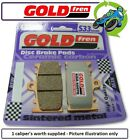 New Motorhispania RX 125 R 10 125cc Goldfren S33 Rear Brake Pads 1Set