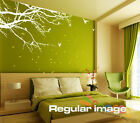 Wall Decal Sticker Mural Removable Small size Corner Top Branch 60W 2 Colors