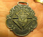 K of C Knights of Columbus Medal Fob 1907 Annual Outing at Cedar Point Park Ohio