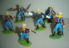 dismounted 7th Cavary American Civil War DSG Argentina Plastic Soldiers Britains