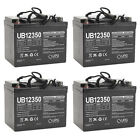 UPG UB12350 12V 35AH Internal Thread Battery for Leisure Lift PACE 4 Pack