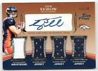 2010 Topps Prime Tim Tebow Rookie Jersey & Wristband & Auto Autograph 13 30