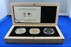 CANADA 2010 9999 FINE SILVER  GOLD VANCOUVER OLYMPICS 3 COIN SET