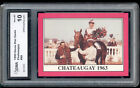 1990 Chateaugay Horse Star Cards Rare Rookie card Gem 10 89