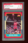 PSA 6 MICHAEL JORDAN 1986-87 FLEER RC ROOKIE CARD CHICAGO BULLS *GREAT CENTERING