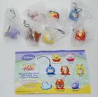 Disney Winnie the Pooh Egg stra Fun Figure Complete Charms Set of 7 VHTF RARE
