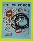 1989 Williams Police Force pinball rubber ring kit