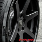 20 CONCEPT ONE CS6 CONCAVE WHEELS RIMS BLACK FITS NISSAN 350Z 370Z