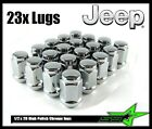 23 JEEP LUG NUTS BULGE ACORN LUGS 1 2 20 CLOSED END 5X5 5X45 CONICAL