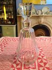 Baccarat Signed Crystal Decanter - Made for Camus Cognac: Baccarat France