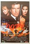 JAMES BOND 007-GOLDENEYE-PIERCE BROSNAN-RARE ORIGINAL YUGOSLAV MOVIE POSTER 1995