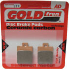 Front Disc Brake Pads for Piaggio MP3 250 2006 250cc By GOLDfren