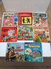 VINTAGE LOT OF 8 WALT DISNEY RECORDS AND BOOK