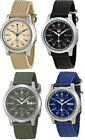 Seiko 5 Men's Automatic Analog Stainless Steel Canvas Watch
