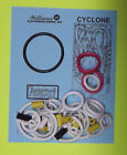 1988 Williams Cyclone pinball rubber ring kit