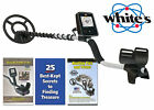 Whites TREASUREmaster Metal Detector with Waterproof Search Coil - Free Shipping