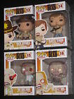 WALKING DEAD SERIES 1 POP VINYL FIGURES RICK DARYL RV  BIKE GIRL ZOMBIES FUNKO