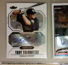 2007 Topps Finest TROY TULOWITZKI Auto Autograph RC CARD WILL GRADE 9 9.5+ Mint