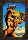 1996 Marvel Masterpieces GOLD GALLERY #4 of 6 Sabretooth NM Very Rare!