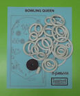 1964 Gottlieb Bowling Queen pinball rubber ring kit