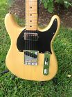 Custom Nitro Butterscotch Double Cut Tele Telecaster Style Loaded Guitar Body