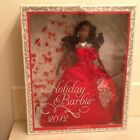 New African American Holiday Barbie 2012 Collector Doll W3466
